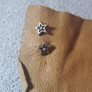 Tiny free people pink and copper stars